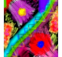 Flower Abstract ! by MeenakshizArt