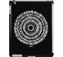 Hip-Hop Origins (White Writing) iPad Case/Skin