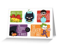 Batman Smells Greeting Card