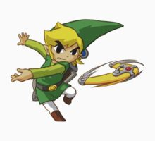 Link throwing  by Hyruler