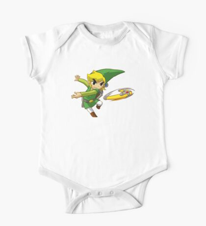 Link throwing  One Piece - Short Sleeve