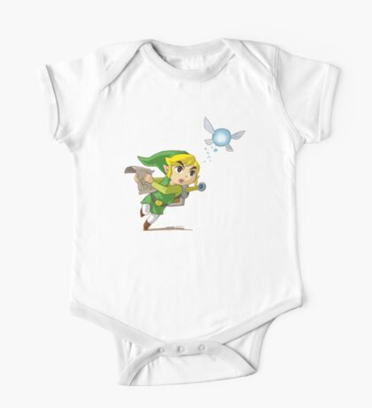 Link flying One Piece - Short Sleeve