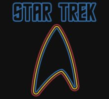 Star Trek Rainbowish Font  by Sarah Kirk