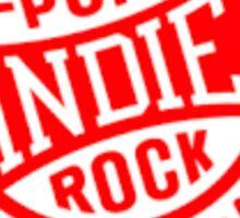 Indie Rock and Pop Sticker