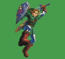 Link jump by Hyruler