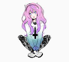 Pastel Goth Anime Girl T-Shirt