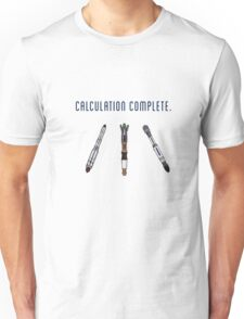 Calculation Complete Unisex T-Shirt