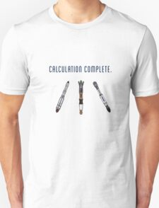 Calculation Complete T-Shirt