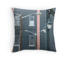 building of delight Throw Pillow