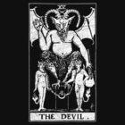 The Devil Tarot Card - Major Arcana - fortune telling - occult by James Ferguson - Darkinc1