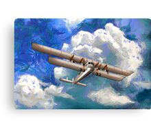 Sikorsky Ilya Muromets -  the World's First  Four Engine Passenger Plane/ Heavy Bomber Canvas Print