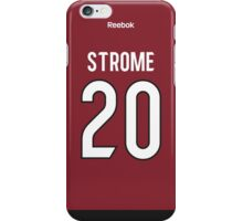 Arizona Coyotes Dylan Strome Jersey Back Phone Case iPhone Case/Skin