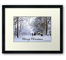 Christmas…….  Framed Print