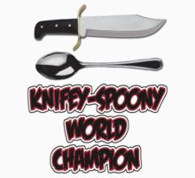 Knifey-Spoony World Champion - The Simpsons by TheFinalDonut
