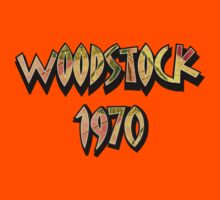Woodstock 1970 Colorful  decoration Clothing & Stickers by goodmusic