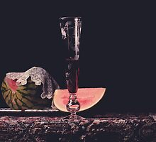 Watermelon. Lace. Wine. by Rachel Slepekis
