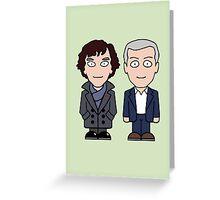 Sherlock and Lestrade (card) Greeting Card