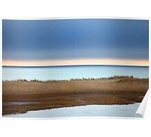 Cape Cod :Winter at Ridgevale Beach Panorama Poster