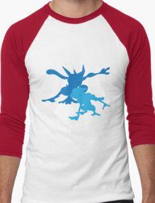 Froakie Frogadier Greninja Men's Baseball ¾ T-Shirt