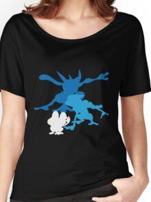 Froakie Frogadier Greninja Women's Relaxed Fit T-Shirt