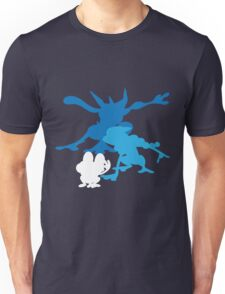 Froakie Frogadier Greninja Unisex T-Shirt