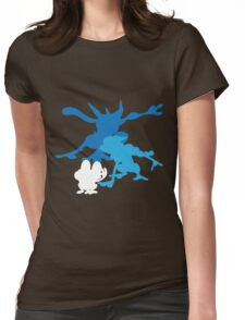 Froakie Frogadier Greninja Womens Fitted T-Shirt