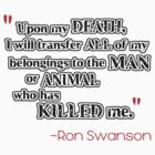 Ron Swanson - Death by TheFinalDonut