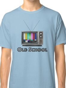 Retro TV  Classic T-Shirt