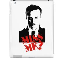 Sherlock - Miss Me (Moriarty) iPad Case/Skin
