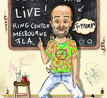 George Carlin in Concert by javajohnart