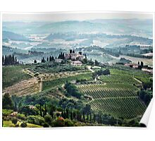 San Gimignano View Poster