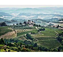 San Gimignano View Photographic Print