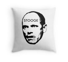 The Newman Stooge Throw Pillow