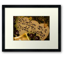 Co-Workers are a Blessing Framed Print