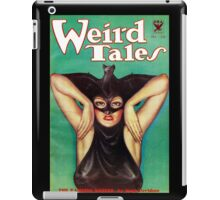 Retro Pulp Science Fiction comic cover  - Weird Tales iPad Case/Skin