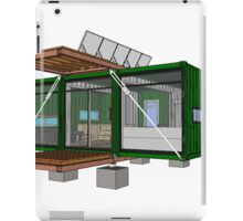 Container house - HoneyBox INC. iPad Case/Skin