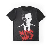 Sherlock - Miss Me (Moriarty) Graphic T-Shirt