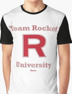 Team Rocket University Graphic T-Shirt