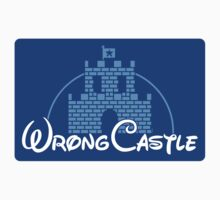 Wrong Castle (STICKER) by mikehandyart