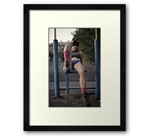 Fashion X Framed Print