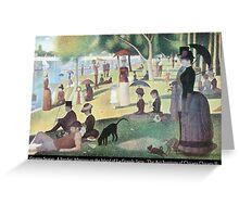 Georges Seurat - A Sunday on La Grande Jatte Greeting Card