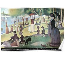 Georges Seurat - A Sunday on La Grande Jatte Poster