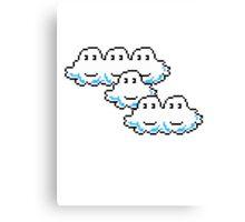 Mario Cloud Canvas Print