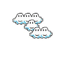 Mario Cloud Photographic Print