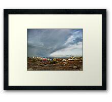 Peggys Cove Nova Scotia Canada Framed Print