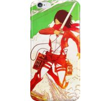 Mikasa Ackerman iPhone Case/Skin