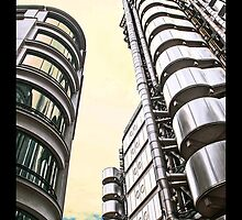 Lloyds of London by Tim Constable by Tim Constable