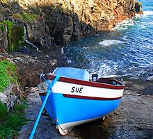 Sue at Church Cove by Photography  by Mathilde