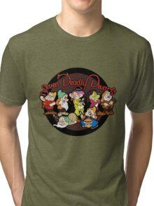 Seven Deadly Dwarfs Tri-blend T-Shirt