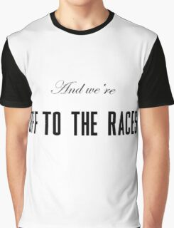 Lana Del Rey Off To The Races Graphic T-Shirt